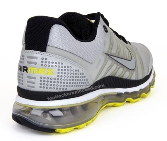 Nike Air Max 2009 - Grey / Silver / Voltage Yellow