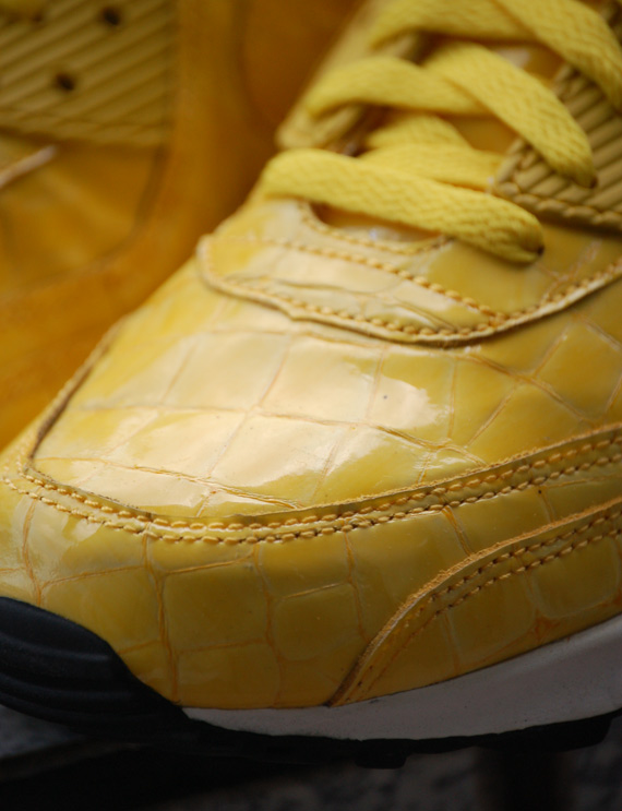 Nike Air Max 90 - Yellow Crocskin