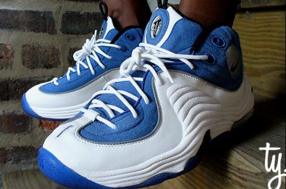 Nike Air Penny 2 (II) Retro - White / Atlantic Blue - Black