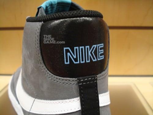 Nike Blazer High Dark Grey/Baltic Blue 3