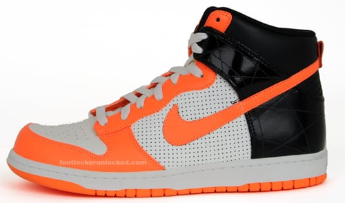 Nike Dunk High Premium Sail / Orange - Black