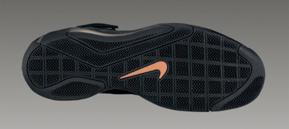 Nike Hypermax - Black / Black - Total Orange - Varsity Purple