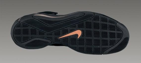 Nike Hypermax - Black / Black - Total Orange - Varsity Purple