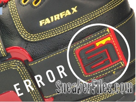 nike lebron fairfax error shoes