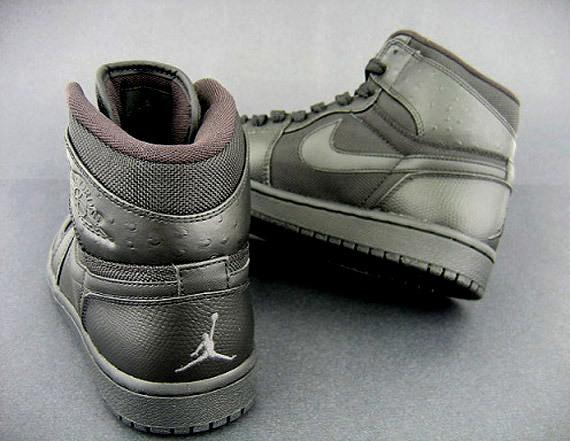 Air Jordan I (1) Retro High - Black Ostrich - Available Now ... 0660837c0