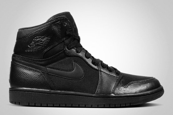 Air Jordan 1 Retro High - Black Ostrich - Available