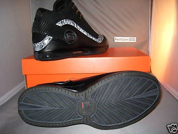 Nike Zoom LeBron Power VI (6) - Black - Anthracite - Sample