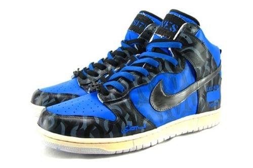 "Nike Dunk High x Kobe Bryant x SBTG ""Varsity Bones"" 3"