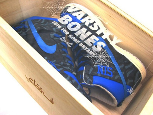 "Nike Dunk High x Kobe Bryant x SBTG ""Varsity Bones"" 1"