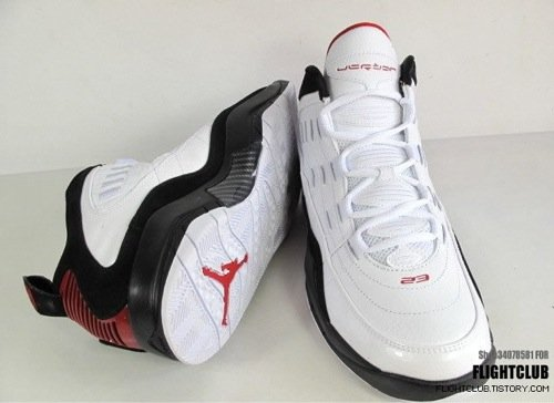 Air Jordan Hallowed Ground White/Black/Red - New Images 2
