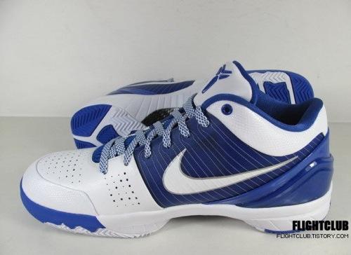 Nike Zoom Kobe IV - White/Blue 2