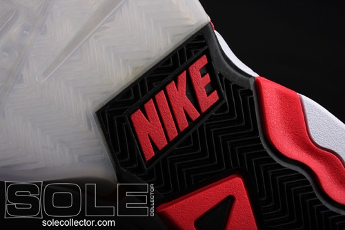 Nike Hoop Structure White/Hot Red/Black 5