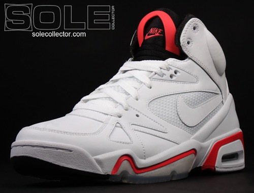 Nike Hoop Structure White/Hot Red/Black 3