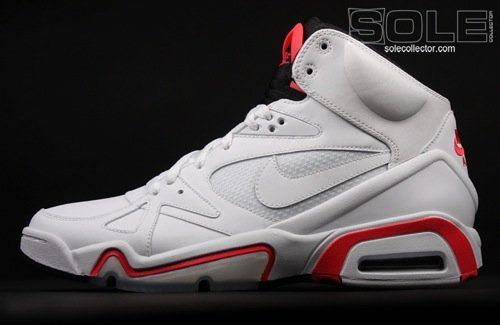 Nike Hoop Structure White/Hot Red/Black