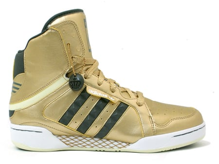 Adidas New Parkice Mid - Gold / Olive