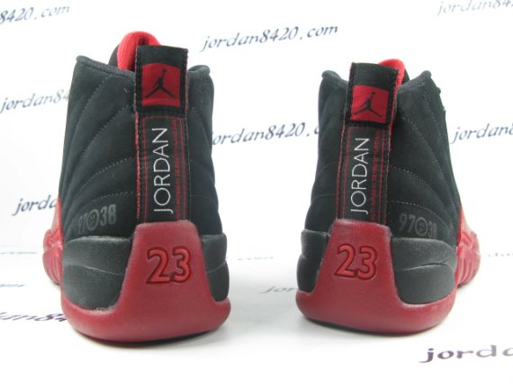 Air Jordan 12 (XII) Flu Game - New Images