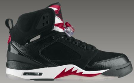 Air Jordan 60+ Black / White - Varsity Red - Now Available