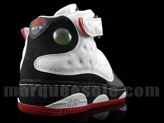Air Jordan Fusion XIII (AJF13) - White / Black - Varsity Red