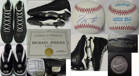"Air Jordan IX (9) Baseball Cleats - Michael Jordan ""45"""