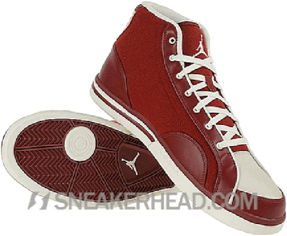 Air Jordan Phly Legend Premier - Team Red / Sail