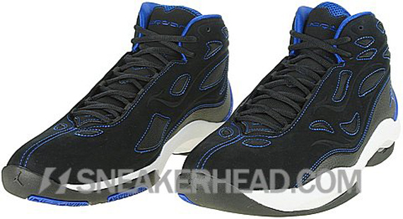 Air Jordan Schoolin' - Black / Varsity Royal - White