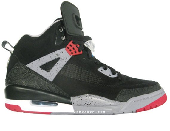 Air Jordan Spizike - Black / Varsity Red - Cement