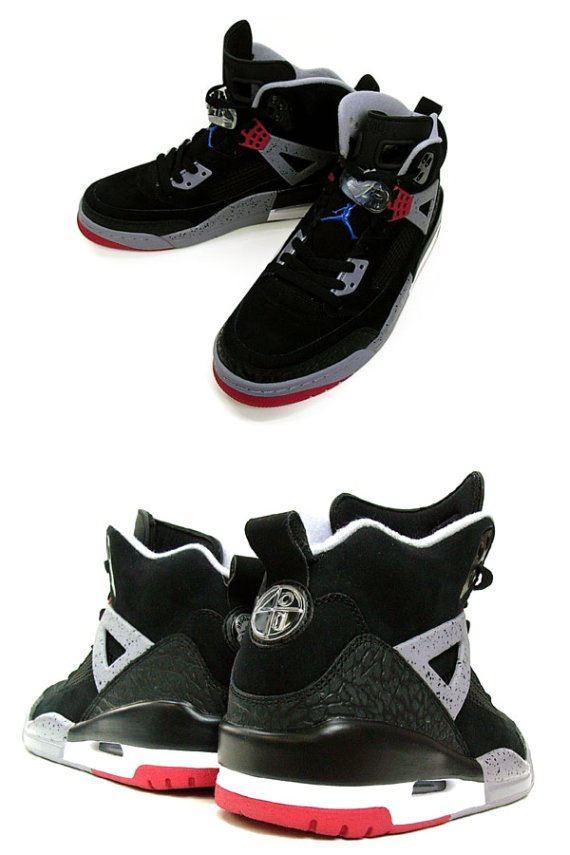 Air Jordan Spizike Sample - Black / Varsity Red – Cement