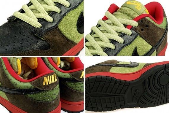 Nike SB Dunk Low Premium 'Asparagus' - Available