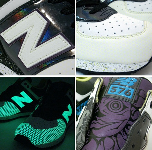 "New Balance 576 x atmos ""Face Off 2 Turbo"""