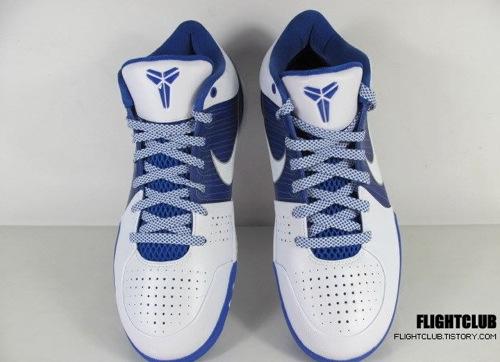 Nike Zoom Kobe IV - White/Blue 3