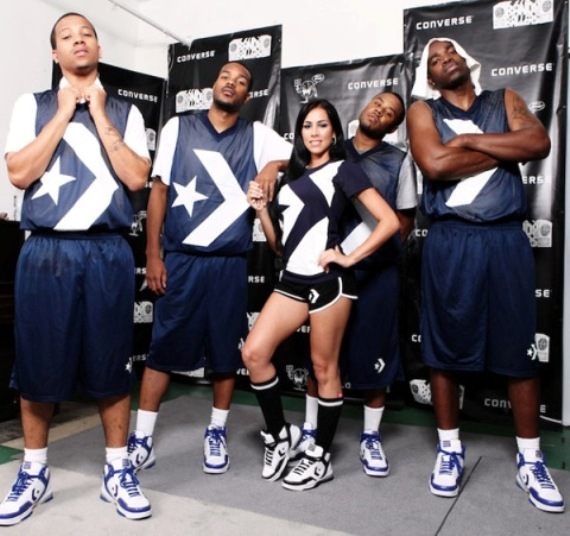 Jim Jones & Crew Take Converse Band of Ballers Event