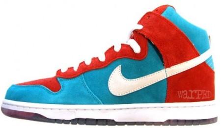 Nike SB Dunk High - Bloody Gums