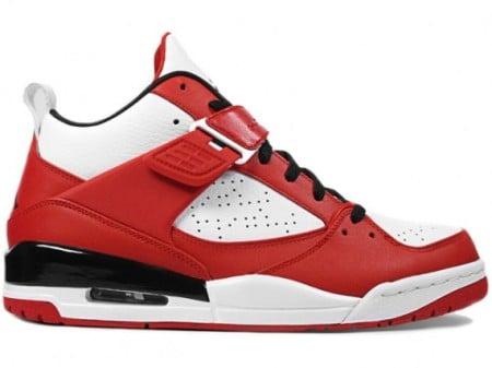 Air Jordan Flight 45 - Varsity Red - White - Black