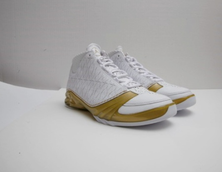 Air Jordan XX3 (23) White/Gold 1-of-1 Sample