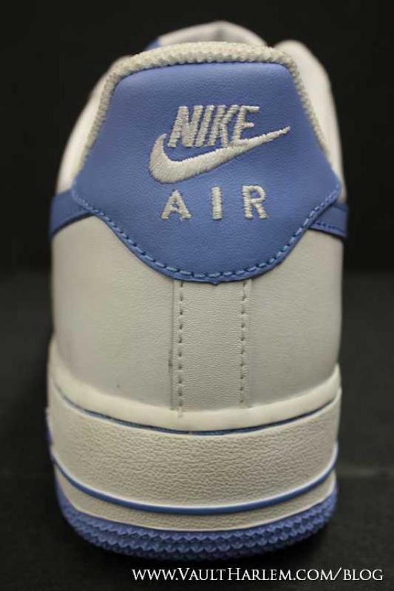 Nike Air Force 1 Bajo Blanco Azul Universitaria Y Azul tc1qkR6