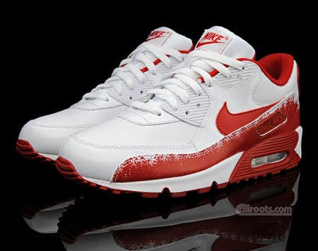 Nike Air Max 90 - White / Varsity Red