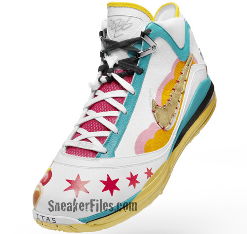 Nike Air Max LeBron VII (7) Artist Series Chicago - Jeff Zimmerman ... a19f03430