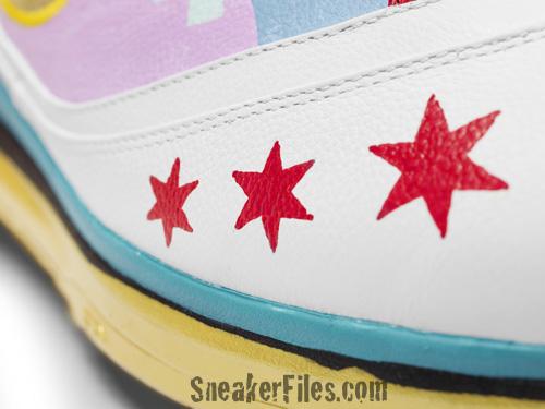 Nike Air Max LeBron VII (7) Artist Series Chicago - Jeff Zimmerman