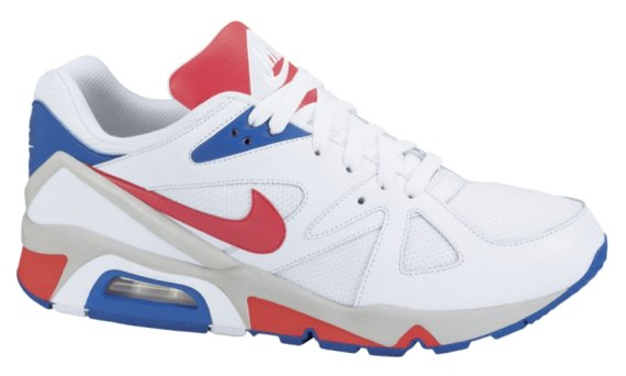 sale retailer 8bd80 6505f Nike Air Structure Triax 91 - White   Red - Blue