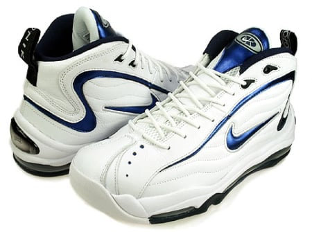Nike Air Total Max Uptempo - White / Midnight Navy