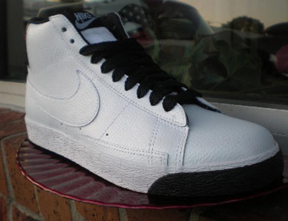 Nike Blazer High - Pearl White / Black