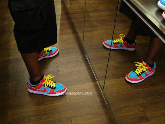 Nike Dunk SB Air Force 1 Hybrid - Ms. Pacman
