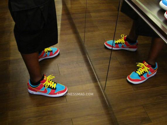 Nike Dunk SB Air Force 1 Hybrid - Ms. Pacman
