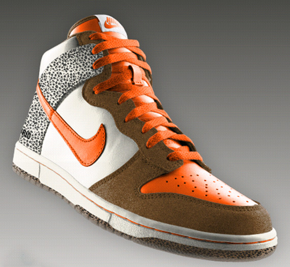 Nike Dunk iD Safari & Clear Outsole Available Now