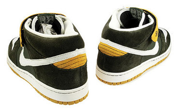 Nike Dunk Mid Pro SB - Green Bay Packers