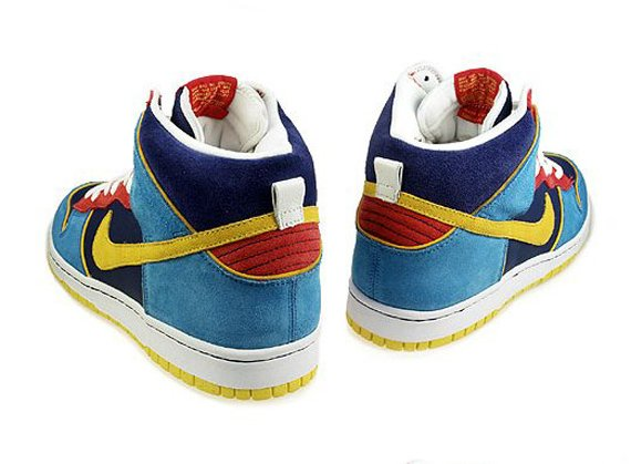 Nike Dunk SB High - Mr. Pac-Man August Quickstrike