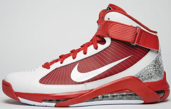 Nike Hypermax - White / Varsity Red - August 2009