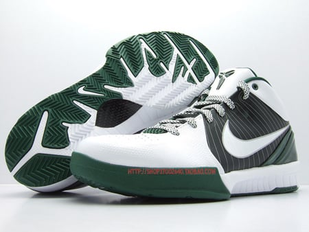 Nike Zoom Kobe IV - White / Green