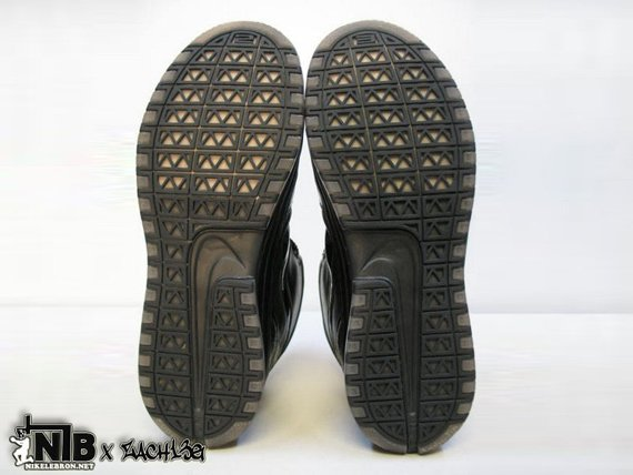 Nike Zoom LeBron VI (6) - Triple Black Wear Test Sample