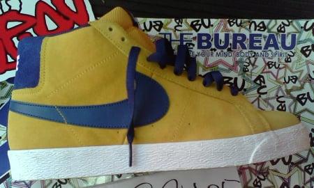 Nike SB Blazer Mid - Gold Leaf / Insignia Blue